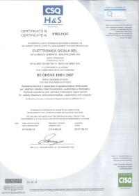 Csq hs certificazione