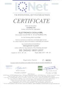 Certificazione IQnet 2