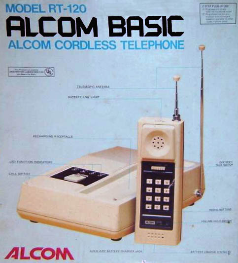 Alcom telefono cordless