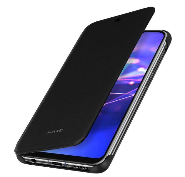 Custodia Huawei Mate 20 Lite Wallet Cover Black