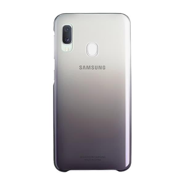 Samsung Galaxy A20e Gradation Cover Black