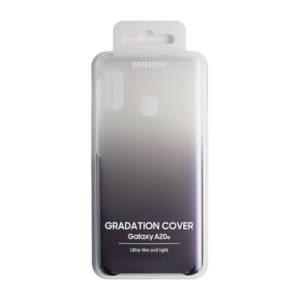 Samsung Galaxy A20e Gradation Cover Black confezione