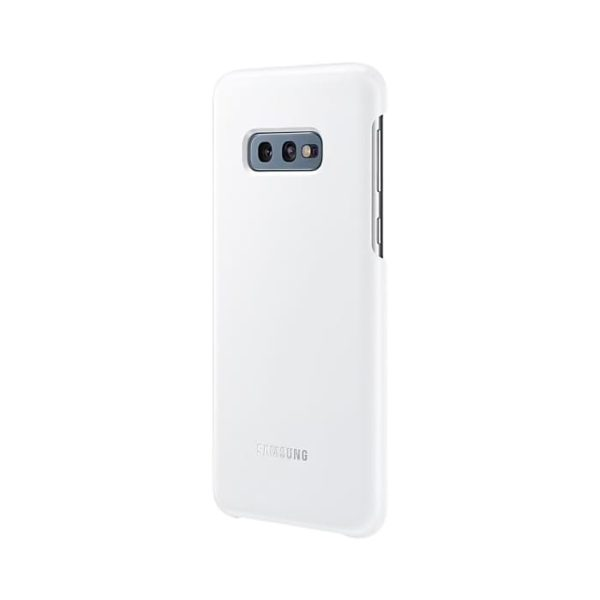 Samsung Galaxy S10e LED Cover White lato
