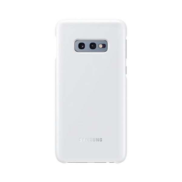 Samsung Galaxy S10e LED Cover White retro