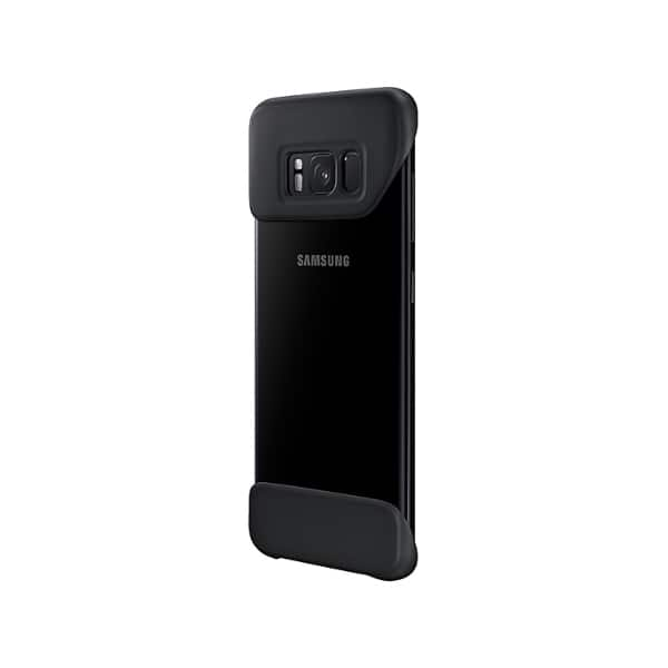 Samsung Galaxy S8 2 Piece Cover Nero lato