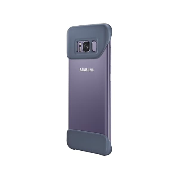Samsung Galaxy S8 2 Piece Cover Blue-Violet lato