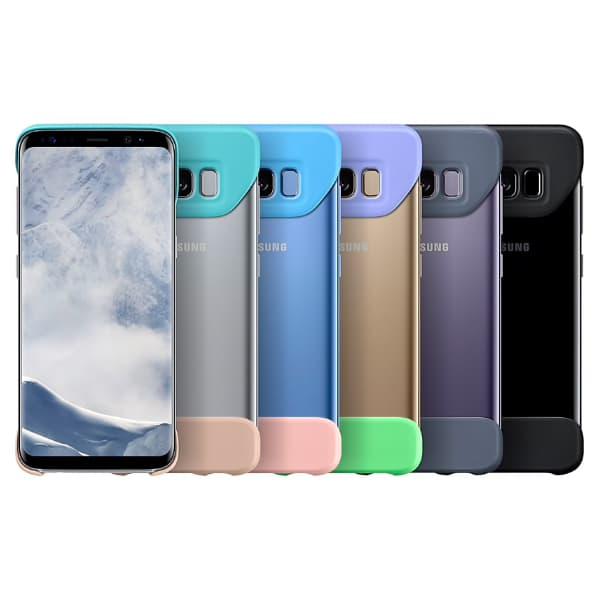 Samsung Galaxy S8 EF-MG950CEEGWW 2 Piece Cover Blue-Violet