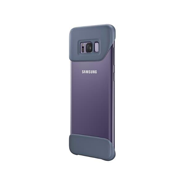 Samsung Galaxy S8+ 2 Piece Cover Violet lato