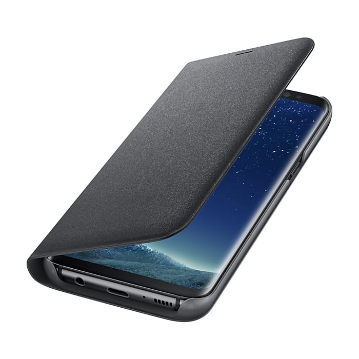 Led View Cover Black Samsung Galaxy S8