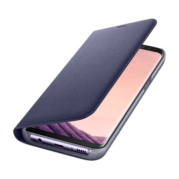 Led View Cover Violet Samsung Galaxy S8