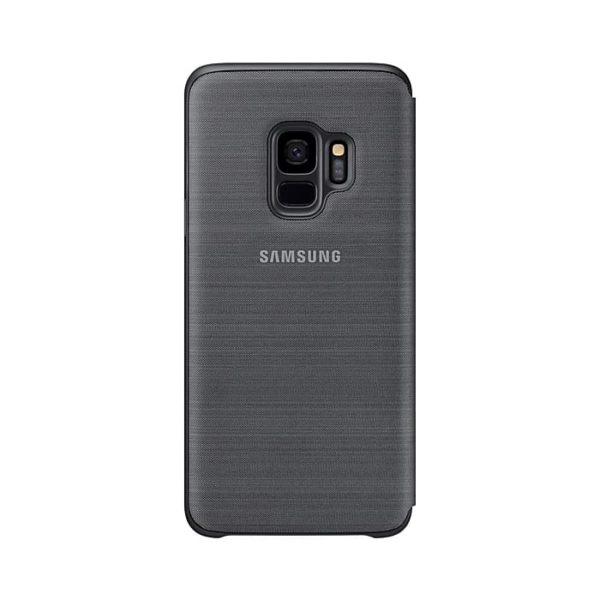 Led View Cover Black Samsung Galaxy S9 retro
