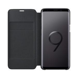 Led View Cover Black Samsung Galaxy S9 custodia