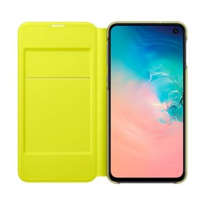 Samsung Galaxy S10e LED View Cover White custodia