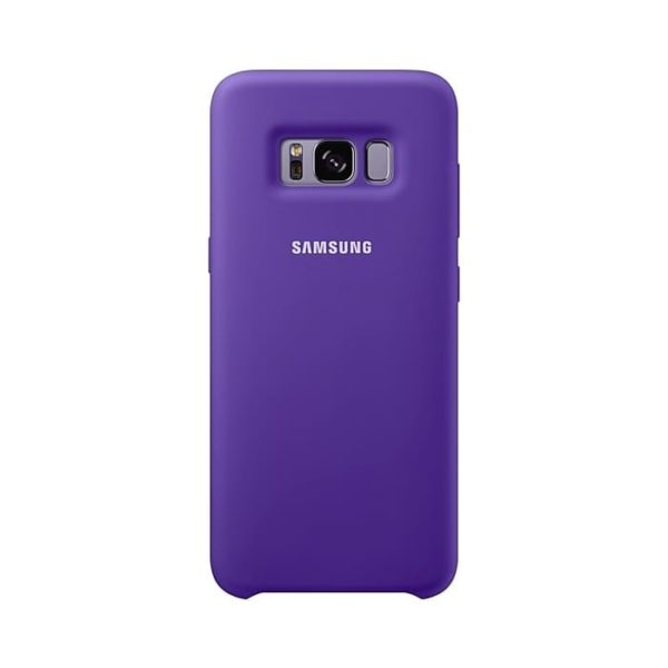 Silicone Cover Violet Samsung Galaxy S8
