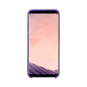 Silicone Cover Violet Samsung Galaxy S8 custodia