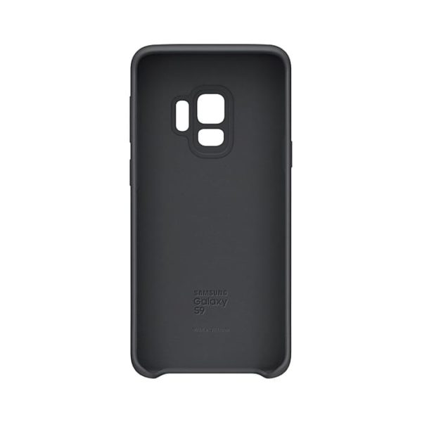 Silicone Cover Gray Samsung Galaxy S9 custodia