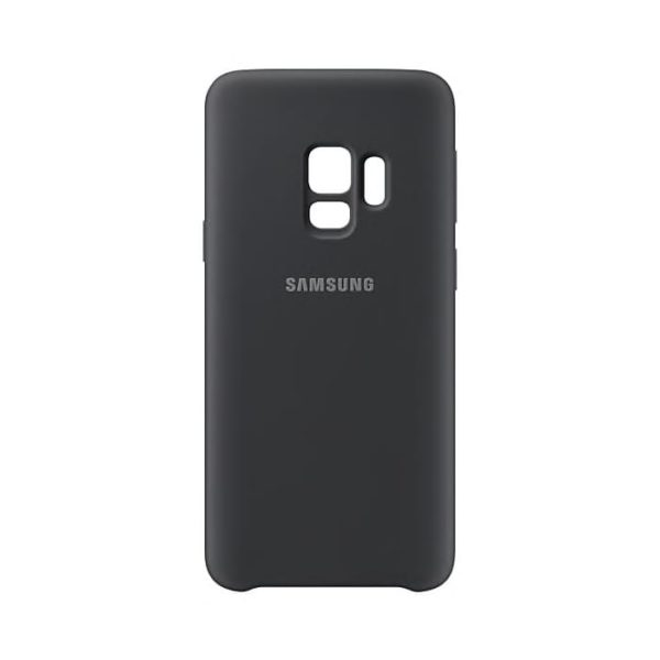 Silicone Cover Gray Samsung Galaxy S9 retro