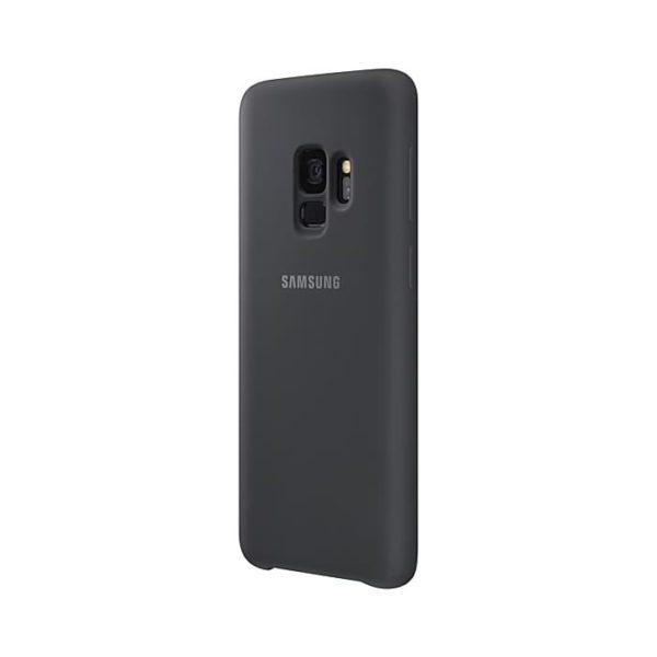 Silicone Cover Gray Samsung Galaxy S9 lato