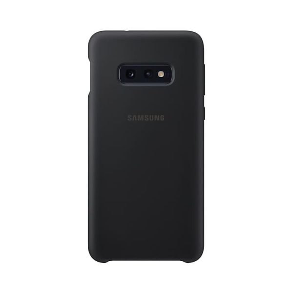 Samsung Galaxy S10e Silicone Cover Black