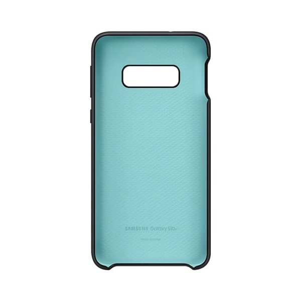 Samsung Galaxy S10e Silicone Cover Black custodia