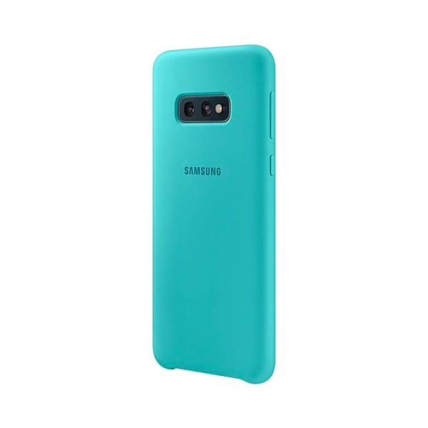 Samsung Galaxy S10e Silicone Cover Green lato