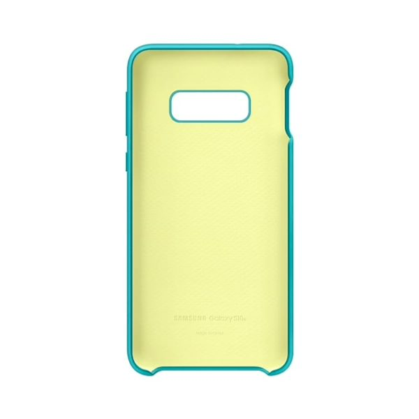 Samsung Galaxy S10e Silicone Cover Green custodia