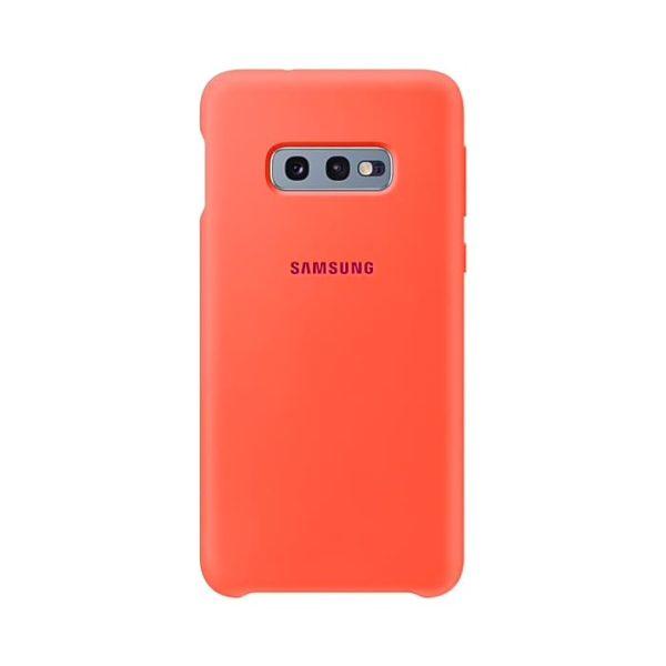 Samsung Galaxy S10e Silicone Cover Pink