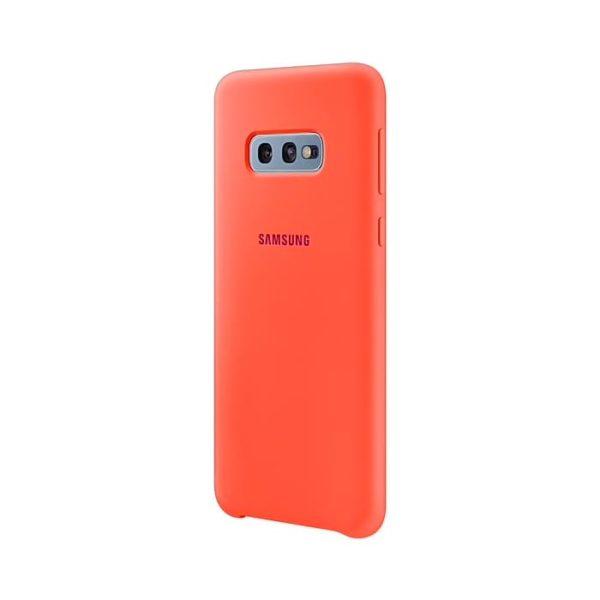 Samsung Galaxy S10e Silicone Cover Pink lato