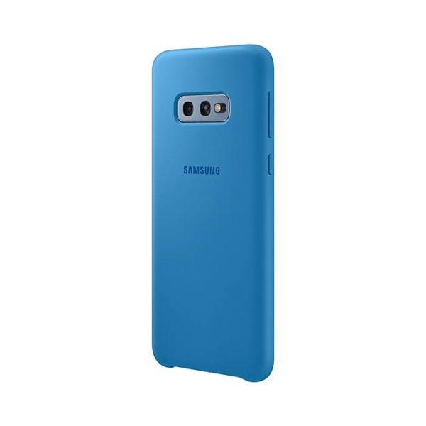 Samsung Galaxy S10e Silicone Cover Blue lato