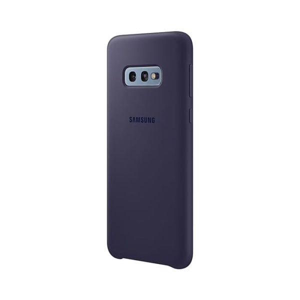 Samsung Galaxy S10e Silicone Cover Blue Arctic retro
