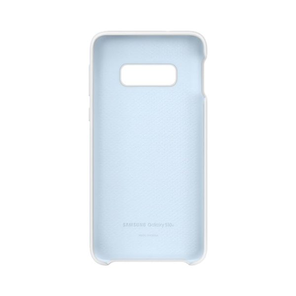 Samsung Galaxy S10e Silicone Cover White custodia