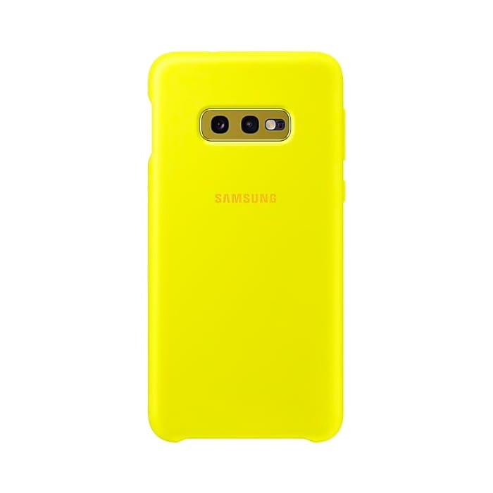 Samsung Galaxy S10e Silicone Cover Yellow