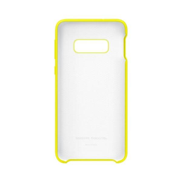 Samsung Galaxy S10e Silicone Cover Yellow custodia