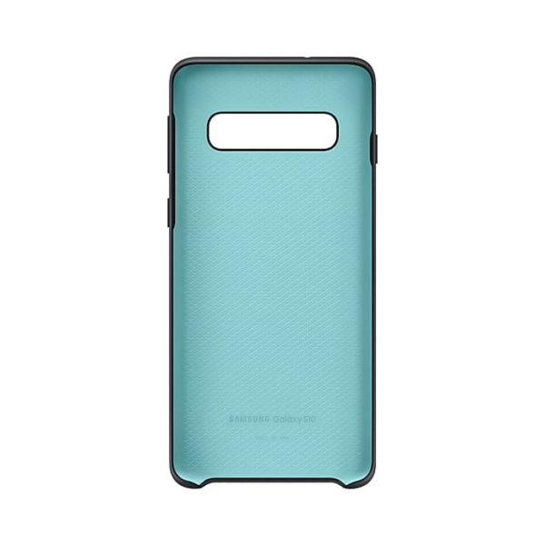 Samsung Galaxy S10 Silicone Cover Black Confezione retro