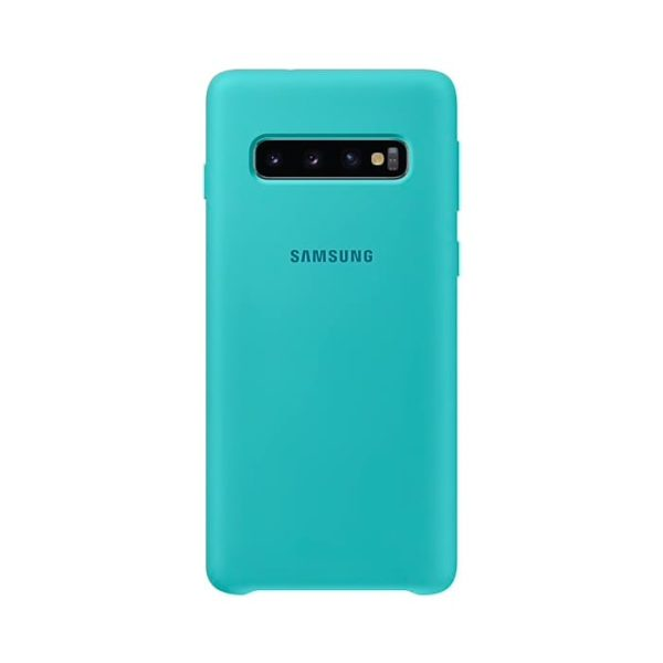 Samsung Galaxy S10 Silicone Cover Green