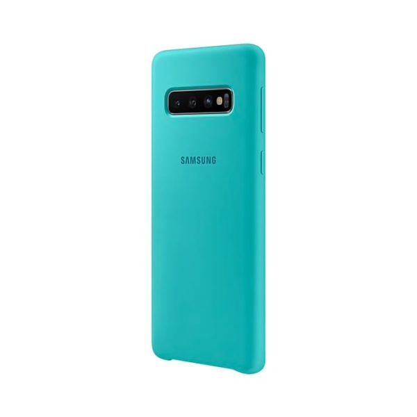 Samsung Galaxy S10 Silicone Cover Green lato