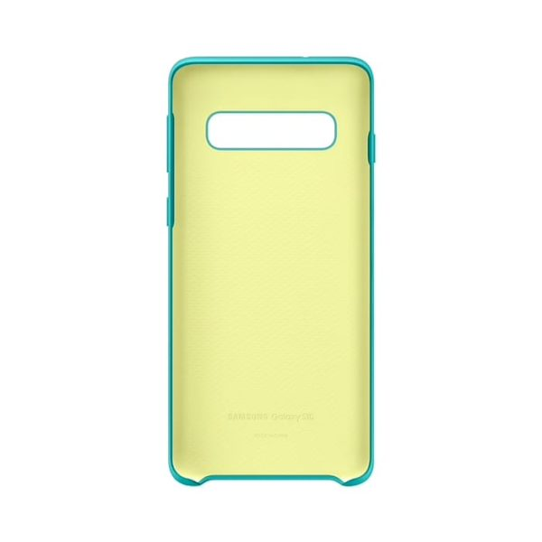 Samsung Galaxy S10 Silicone Cover Green custodia