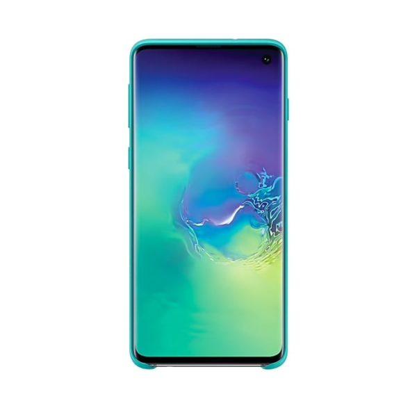 Samsung Galaxy S10 Silicone Cover Green EF-PG973TGEGWW