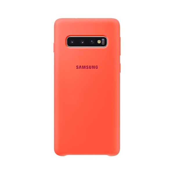 Samsung Galaxy S10 Silicone Cover Pink