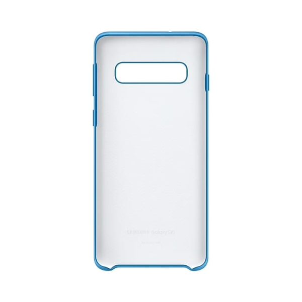 Samsung Galaxy S10 Silicone Cover Blue custodia