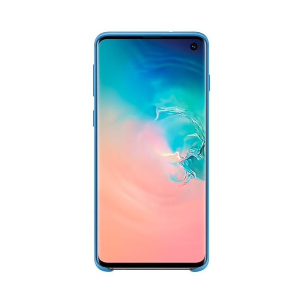 Samsung Galaxy S10 Silicone Cover Blue EF-PG973TLEGWW