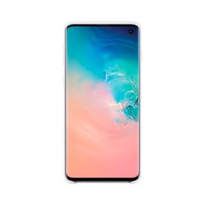 Samsung Galaxy S10 Silicone Cover White EF-PG973TWEGWW