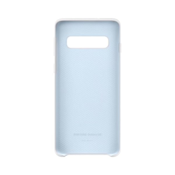 Samsung Galaxy S10 Silicone Cover White custodia