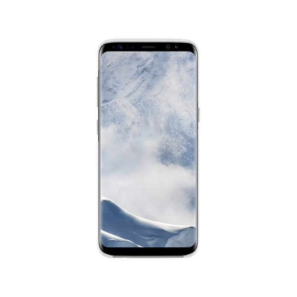 Samsung Galaxy S8 Clear Cover Silver