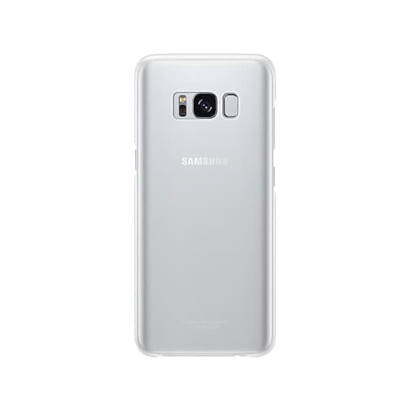 Samsung Galaxy S8 Clear Cover Silver retro