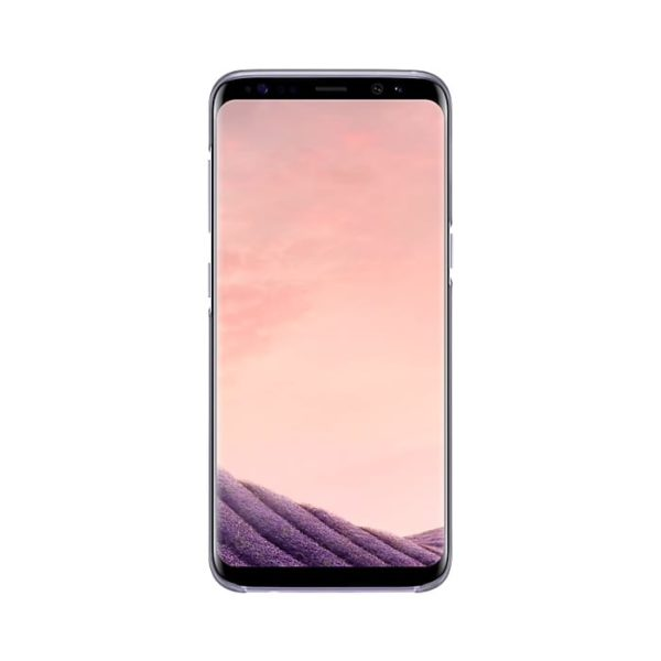 Samsung Galaxy S8 Clear Cover Transparent Violet EF-QG950CVEGWW