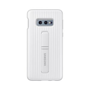 Samsung Galaxy S10e Protective Standing Cover White