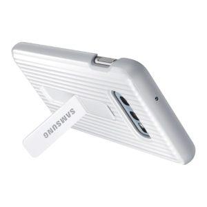 Samsung Galaxy S10e Protective Standing Cover White custodia