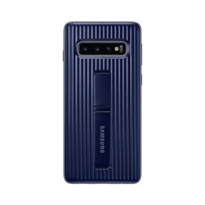 Samsung Galaxy S10 Protective Standing Cover Black