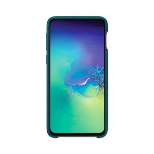 Samsung Galaxy S10e Leather Cover Green EF-VG970LGEGWW
